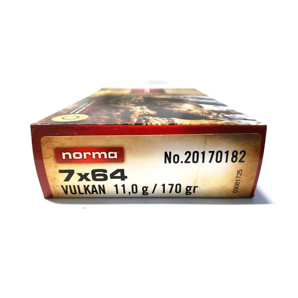 7x64 Norma Vulkan 11 g